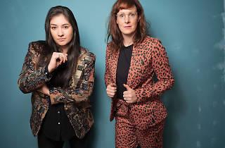 Sophie Santos and Jess Salomon