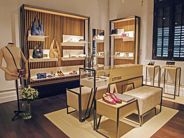 Lottusse shop interior