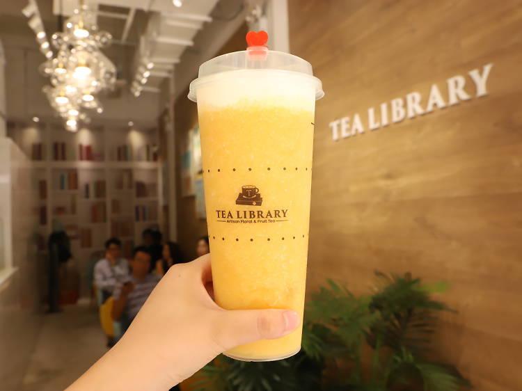 Tea Library︰茶香撲鼻