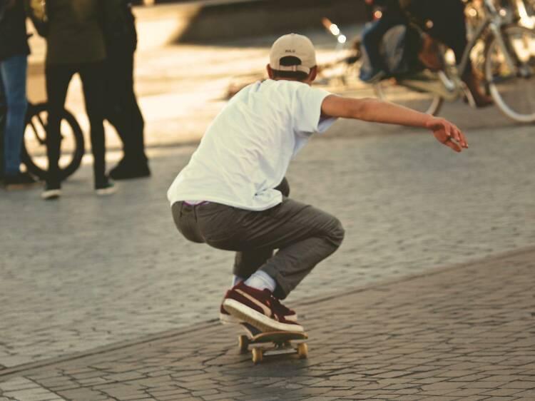 Três sítios para andar de skate no Porto