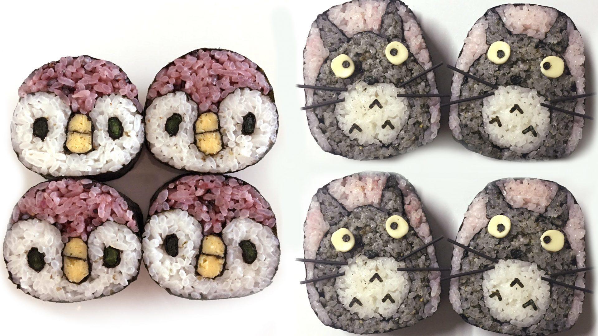 Sushi cuqui... i mortal!