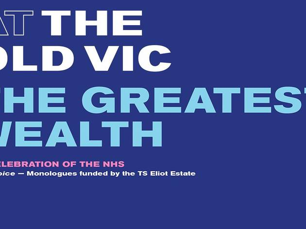 'The Greatest Wealth' at The Old Vic