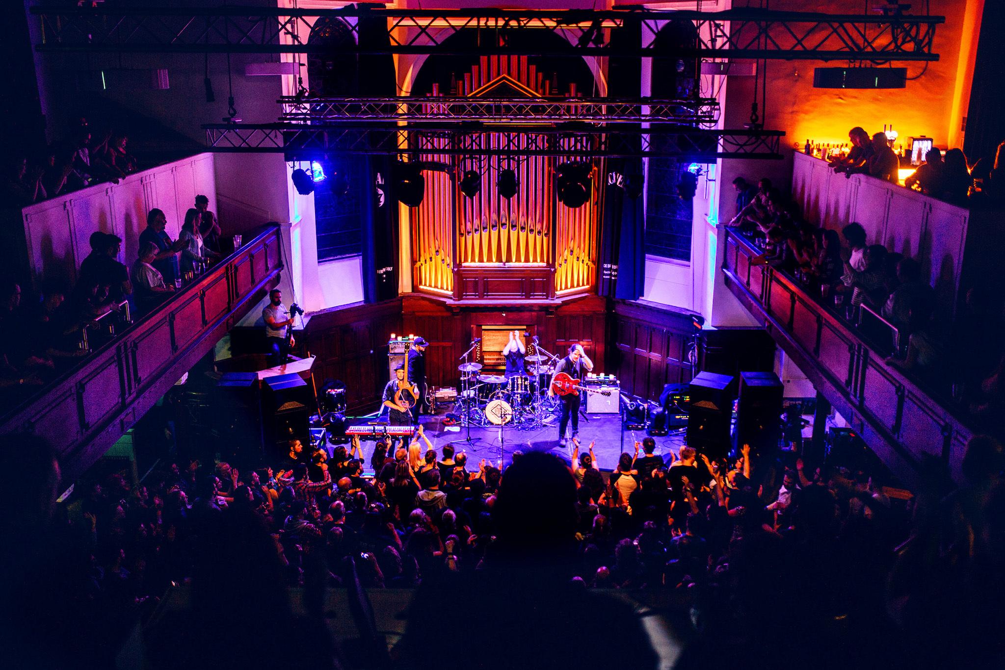 St Luke's, Glasgow, for Schweppes campaign