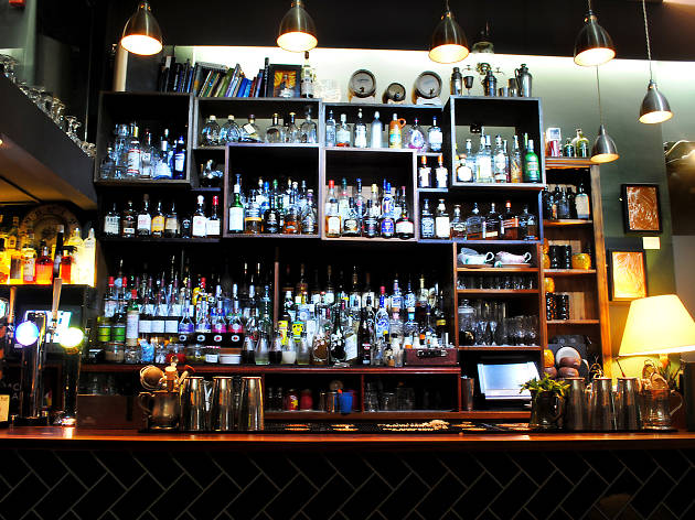 Flipside Cocktail Bar Bristol, for Schweppes campaign