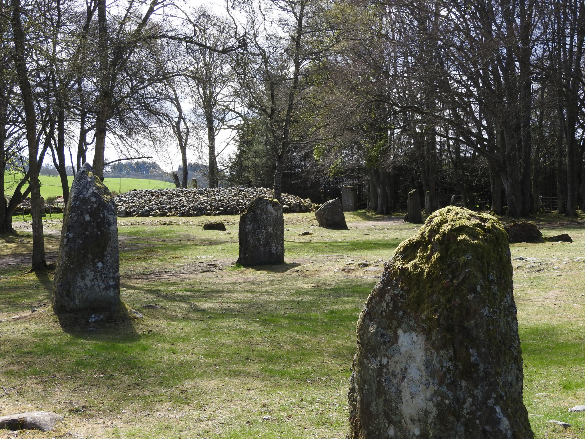 Clava Cairns TTD Inverness