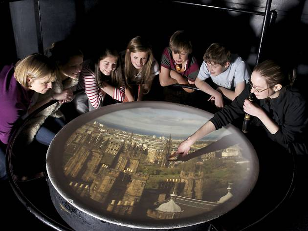 Camera Obscura World of Illusions Edinburgh