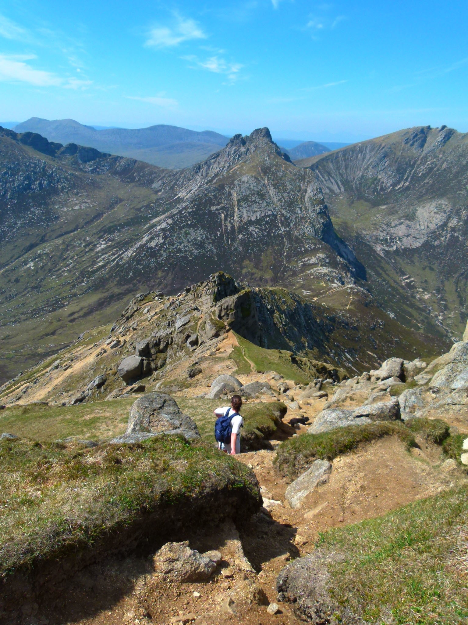 arran goat fell mountain scotland