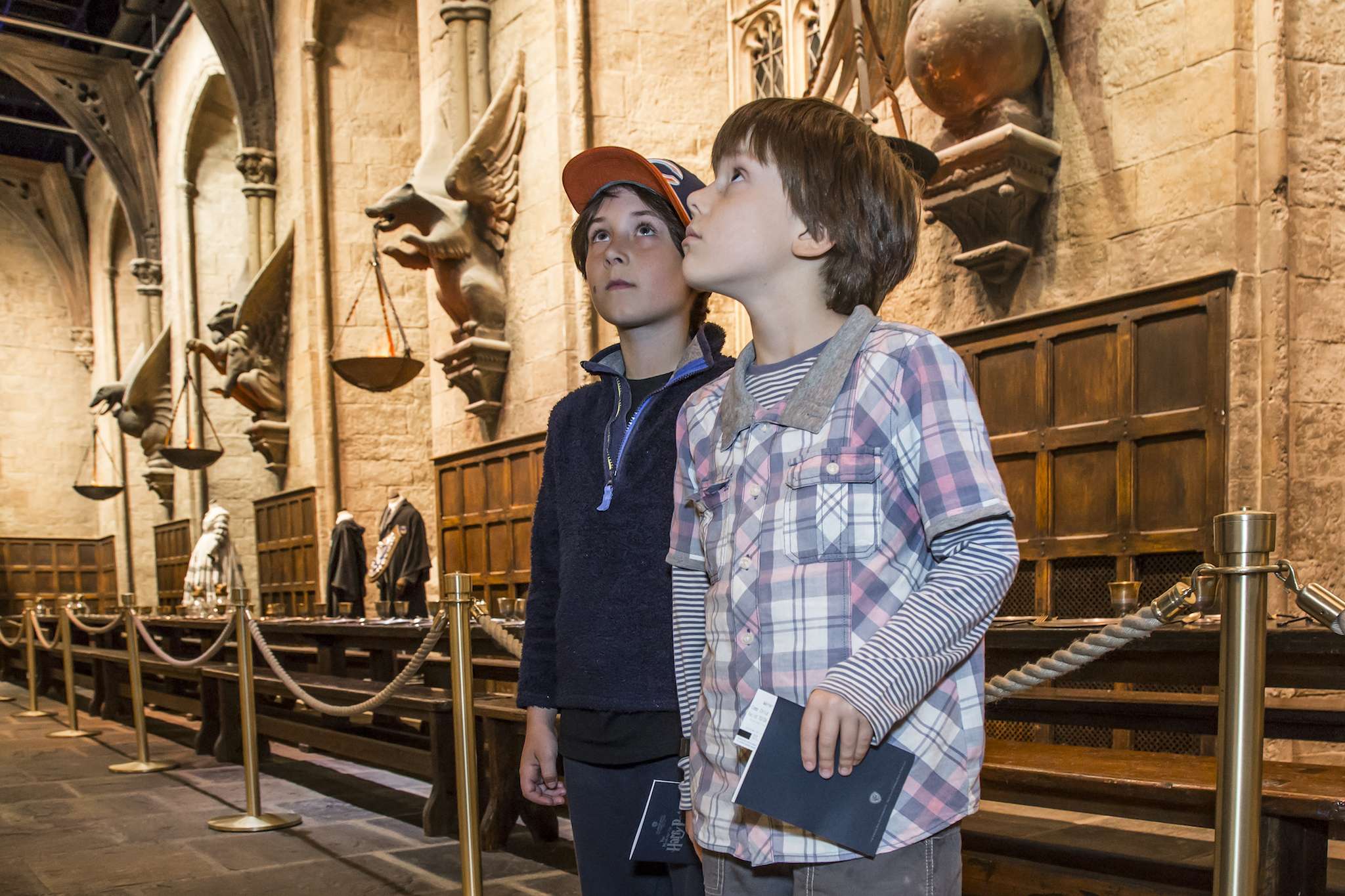 Warner Bros Harry Potter Experience, Great Hall