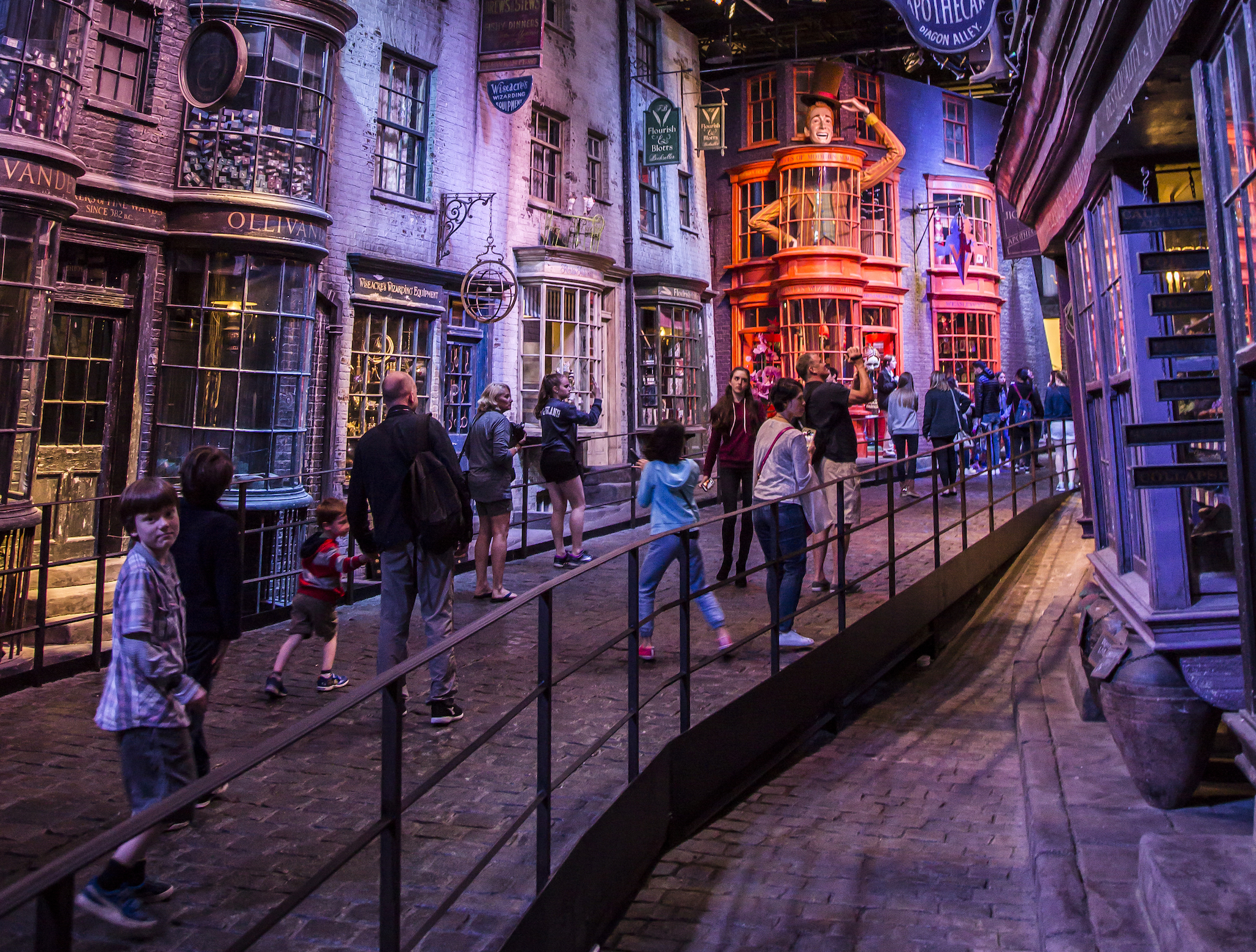 Warner Bros Harry Potter Experience, Diagon Alley