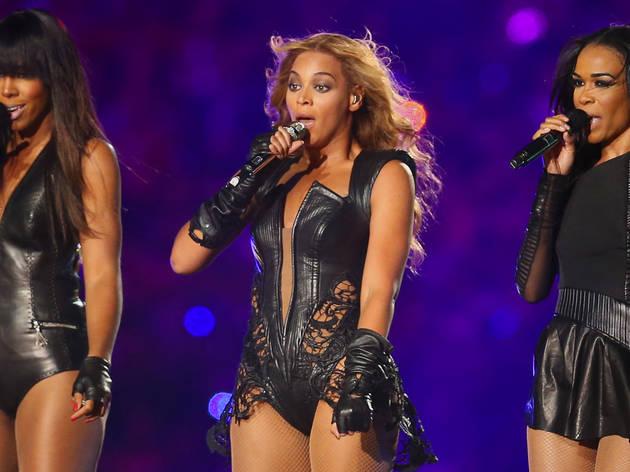 Destiny Child at Super Bowl XLVII halftime show