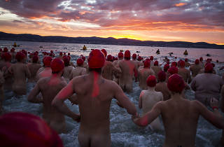Dark Mofo Winter Solstice Nude Swim 2018