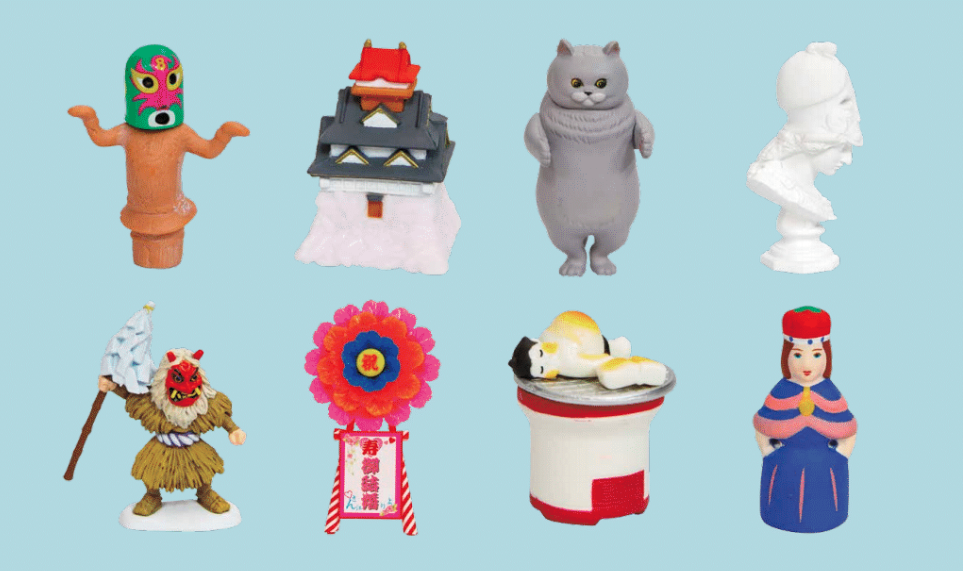 Best places for capsule toys in Tokyo