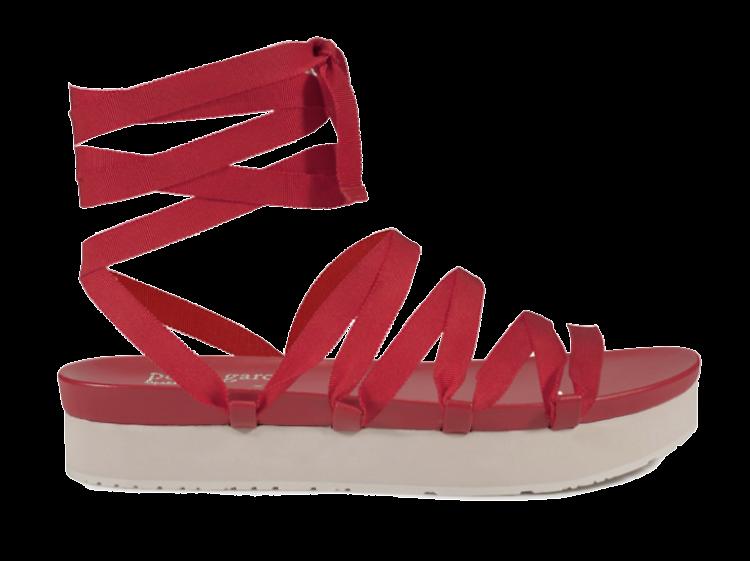 Crayon-coloured shoes