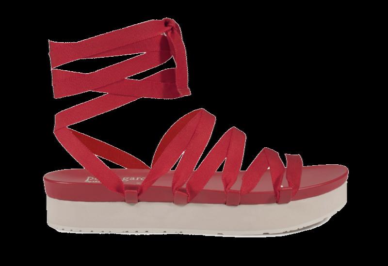 Pedro García x Temperley London platform sandal