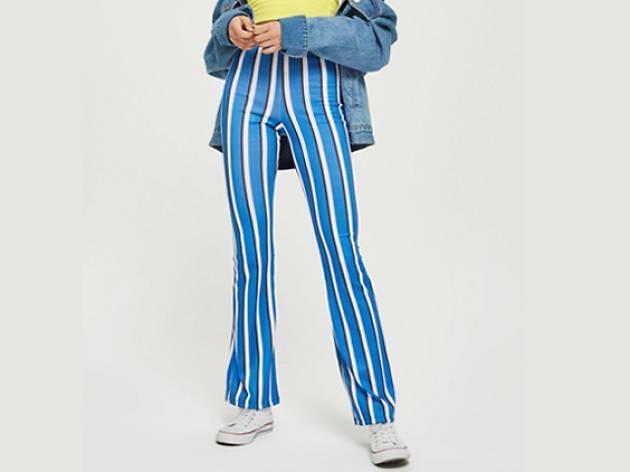Topshop striped pants