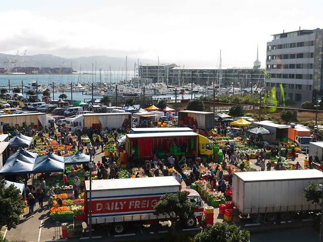 Harbourside Market, Wellington
