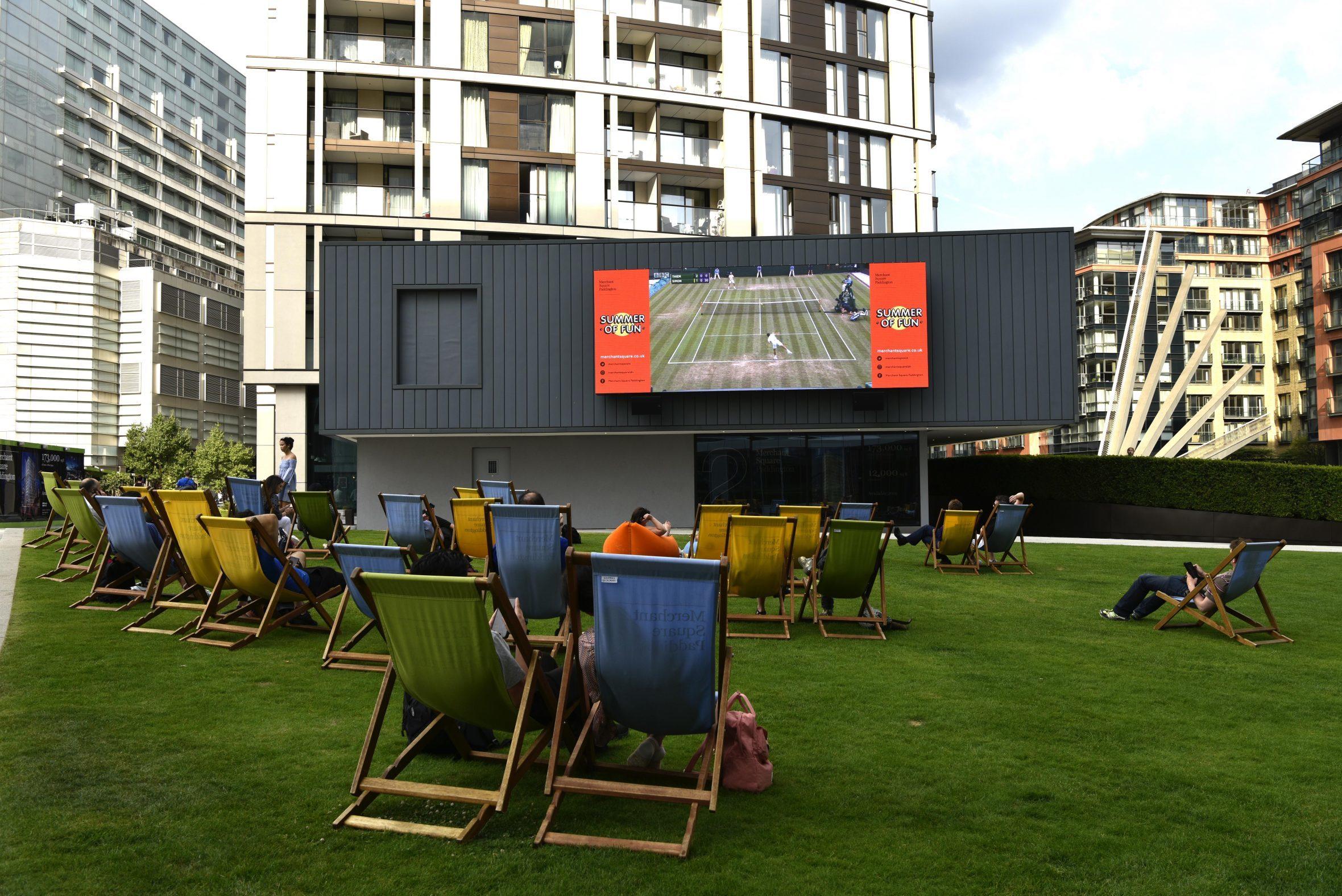 The Big Screen at Merchant Square