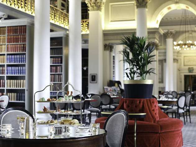 colonnades signet library edinburgh afternoon tea