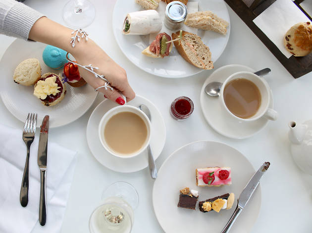 harvey nichols afternoon tea edinburgh