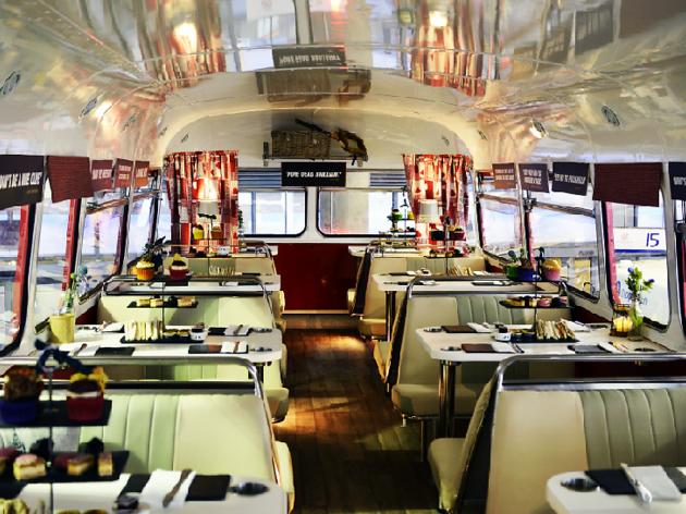 red bus bistro edinburgh afternoon tea
