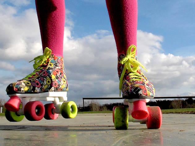 Person on Roller blades