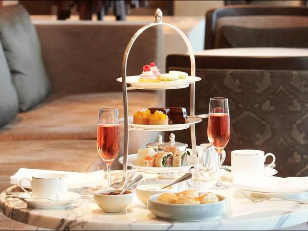 Food and wine High tea at Park Hyatt Hotel