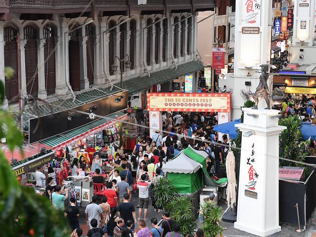 The 50 Cents Fest: Colonial Singapore
