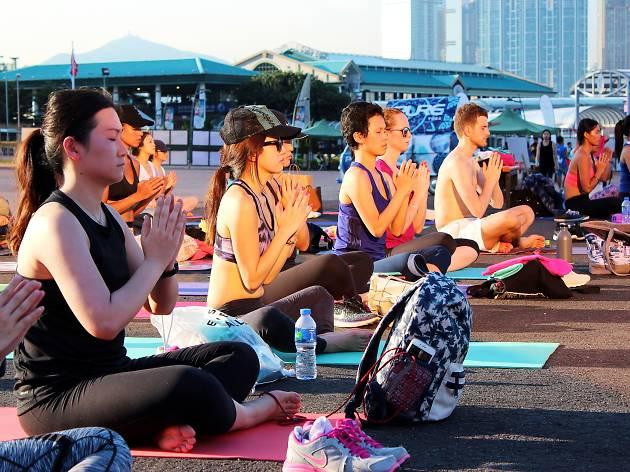 「YogaForAll」國際瑜伽日