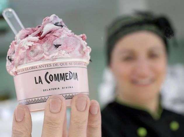 La Commedia helados