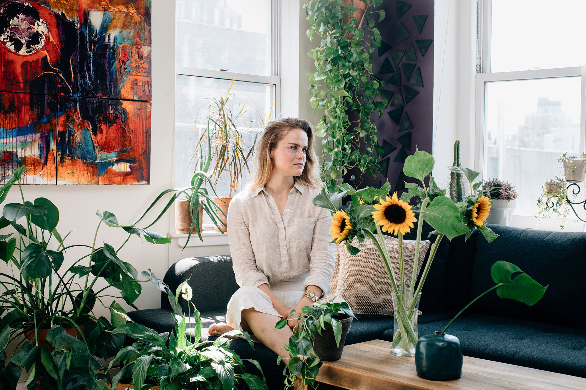 3 New York Apartments Overflowing With Plants
