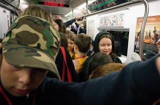 NYC subway field trip