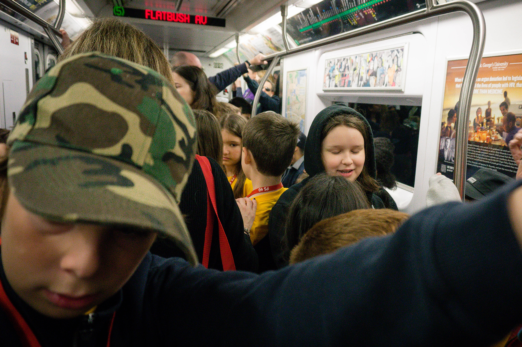 Field trips on the subway are a hellish experience