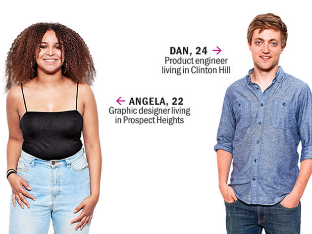 Angela and Dan