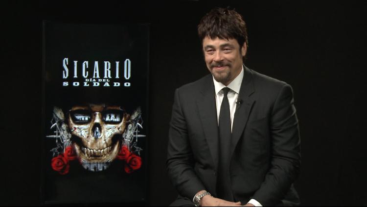 Benicio del Toro en el Soldado 2: día del soldado