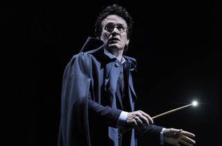 (Jamie Parker as Harry Potter in the original London cast, photograph: Manuel Harlan)