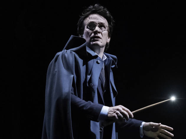 Jamie Parker as Harry Potter in the original London cast, photograph: Manuel Harlan
