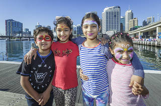 School holidays at Darling Harbour