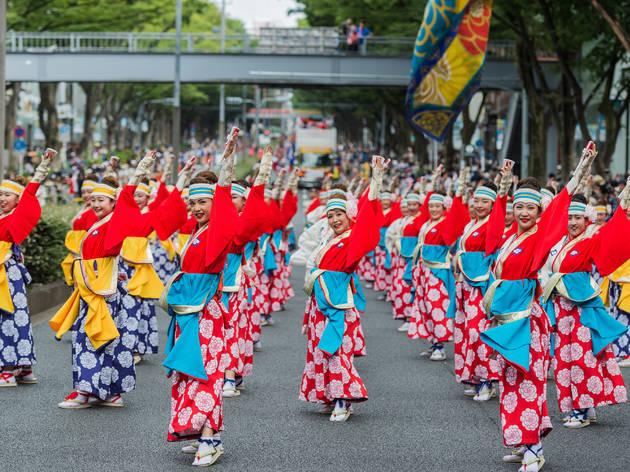 東京、夏祭り2018