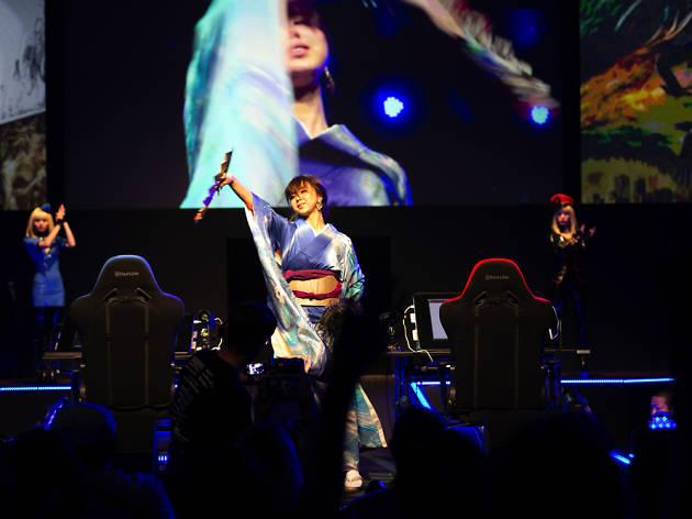 Aogacho at Limits Digital Art Battle 2018