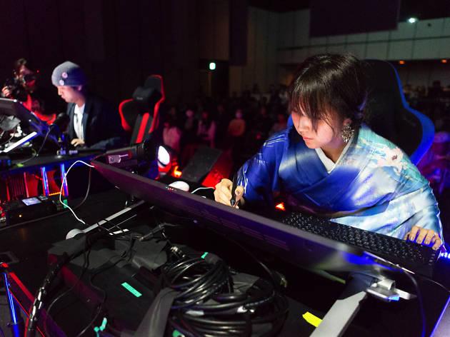Aogachou at Limits Digital Art World Grand Prix 2018