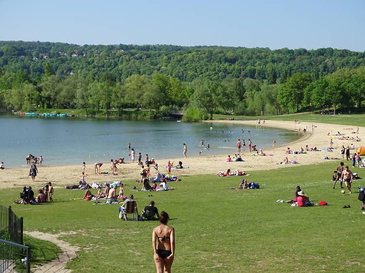 L'Île de loisirs du Val de Seine