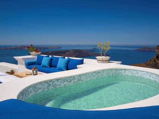 11 Incredible Hotels In Santorini For The Perfect Break