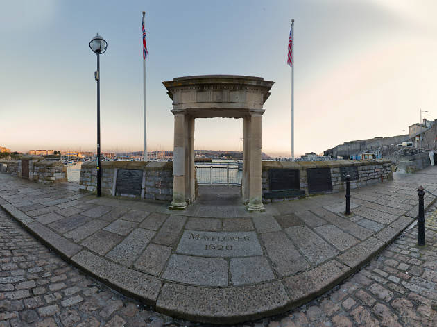 Mayflower Steps, Barbican, Plymouth, Devon