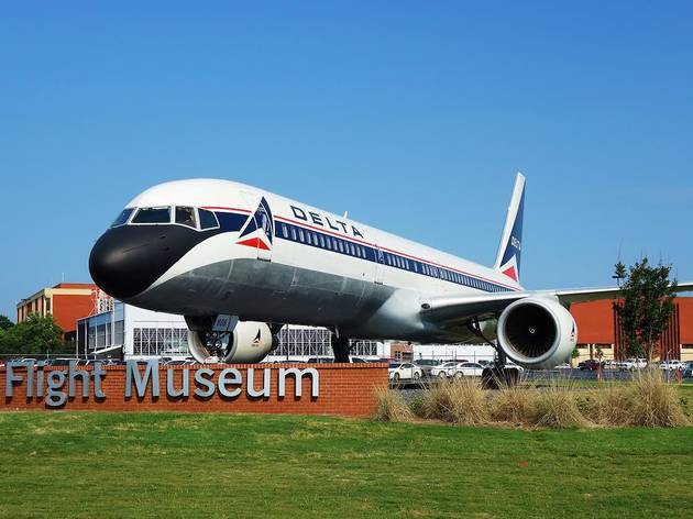 ATLANTA, GA -9 MAY 2015- Planes on exhibit at the Delta Flight Museum, located at the Hartsfield-Jackson Atlanta International Airport (ATL).; Shutterstock ID 280077167; Purchase Order: Kids; Job: ; Client/Licensee: Time Out; Other: