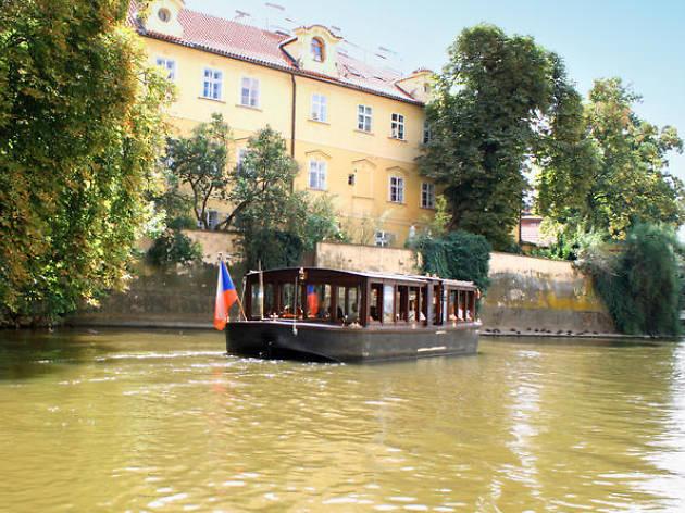 Prague River Boat Tour