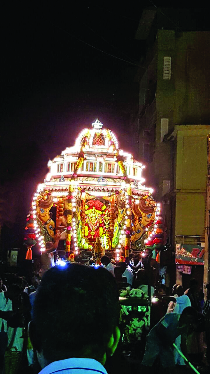 Adi Vel reverence for Lord Murugan