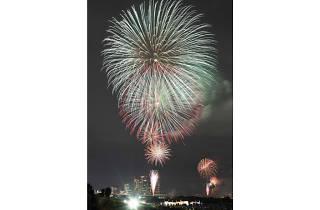 Tamagawa Fireworks Festival 2