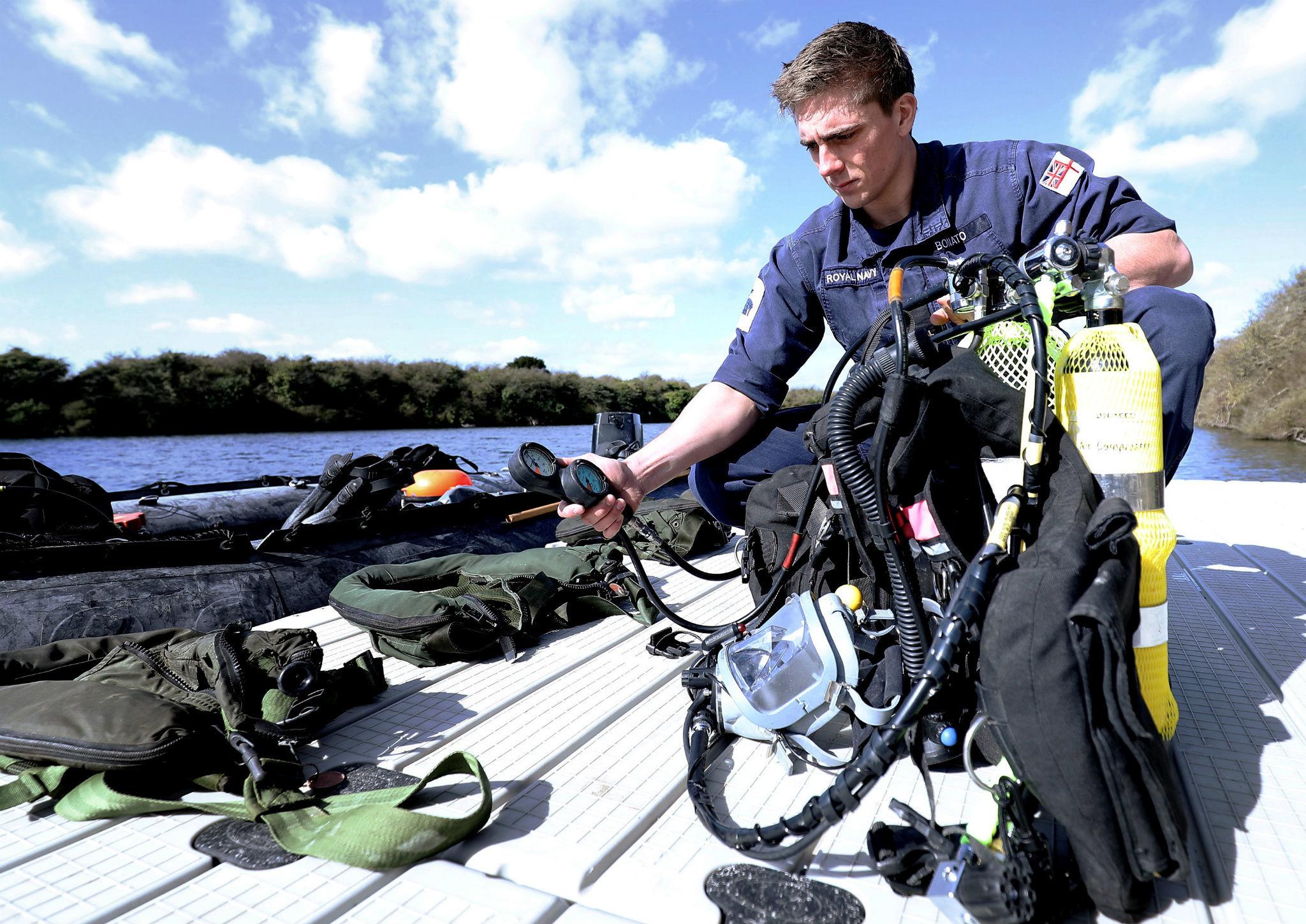 TYOK Alex Bonato bomb disposal diver