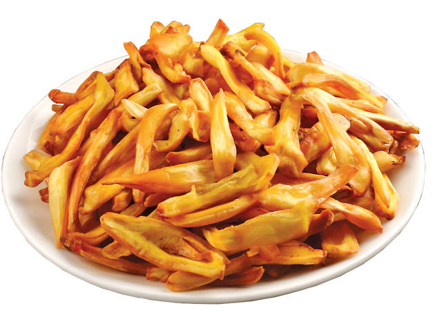 Fried jackfruit chips