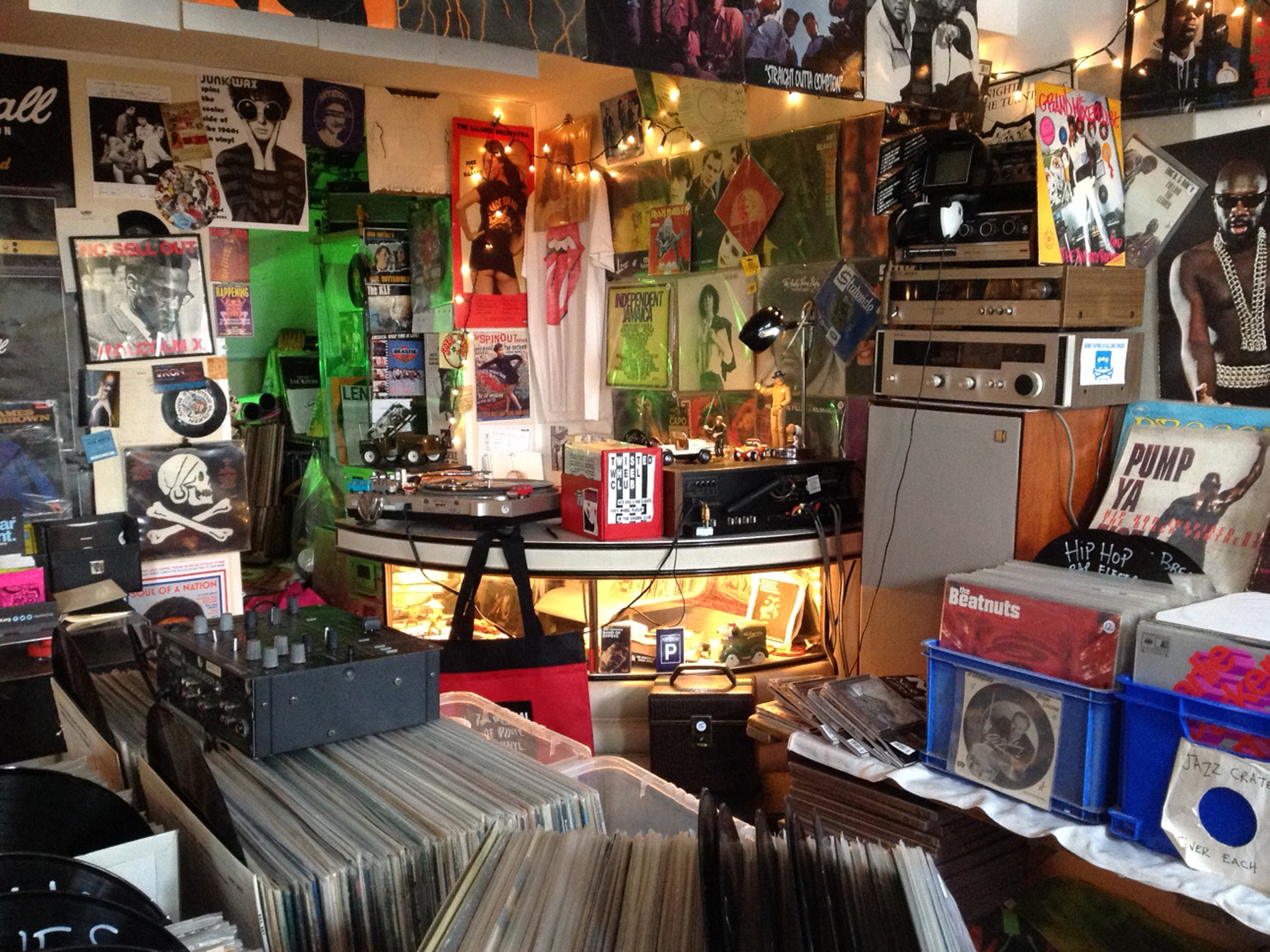 Retro Sounds Records TTD Newquay